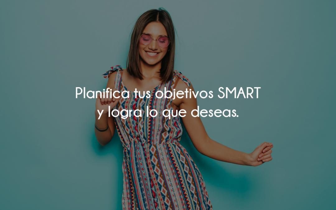 Planifica tus objetivos SMART y logra lo que deseas.